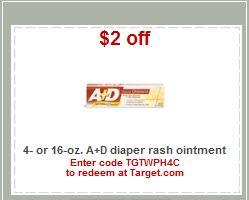 A+D Diaper Rash Ointment