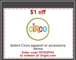 $1 Off Circo Apparel