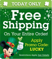 Disneystore.com Free Shipping Offer
