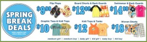 Gymboree Spring Break Deals