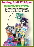 AC Moore Easter Basket Demonstration