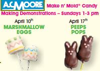 AC Moore Easter Peeps Demonstration