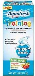 Aquafresh Training Toothpaste Coupon