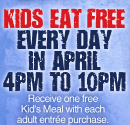 Kids Eat Free April
