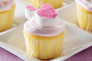 Kraft Fluffy Bunny Cupcakes