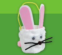 Lakeshore Free Bunny Basket Craft