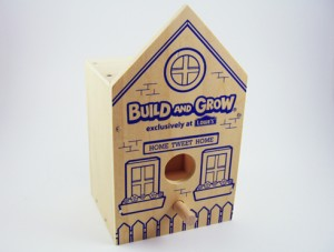 Lowe's Build and Grow Clinic Birdhouse