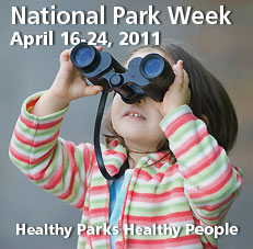 National Park Week and Free Entrance Days