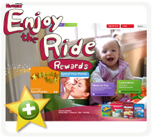 Huggies Enjoy the Ride Free Points Codes