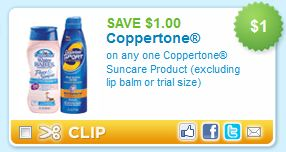 $1 Off any Coppertone Printable Coupon