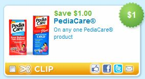 $1 Pediacare Coupon Printable