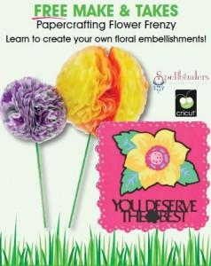 AC Moore Free Make & Take Flower Frenzy
