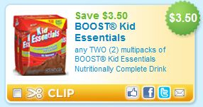 Boost Kids Essentials Printable Coupon