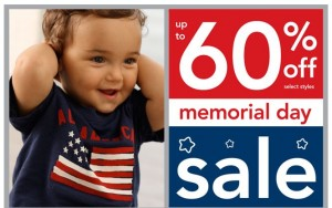 Carter's Memorial Day Sale Plus Coupon!