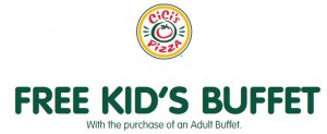 CiCi's Pizza Kids Free Buffet Printable Coupon!