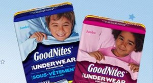 GoodnNites Underwear Free Sample and Coupon