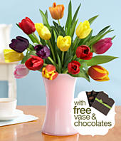 ProFlowers 15 Tulips $29.99 for Mom or Grandma