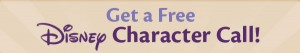 Free Disney Character Call for potty training