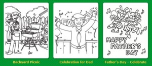 Free Father's Day Coloring Pages from Crayola