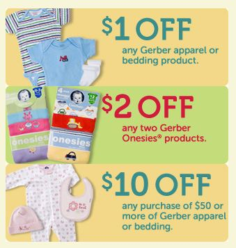 Baby supply coupons