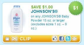 Johnson's Baby Powder Printable Coupon