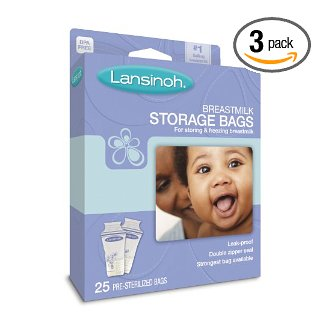 Lansinoh Breastmilk Storage Bags Amazon Deal