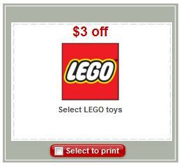 Target Printable Toy Coupons - LEGO, Hot Wheels, Transformers