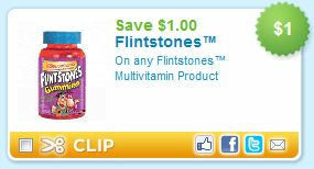 Flintstones Vitamins Printable Coupon