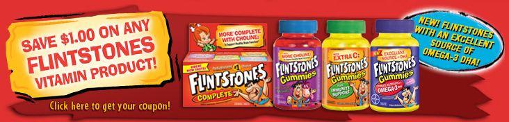 Printable Flintstones Vitamins Coupon