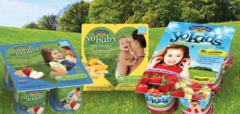 Stonyfield Organic YoBaby, YoToddler, YoKids Printable Coupons