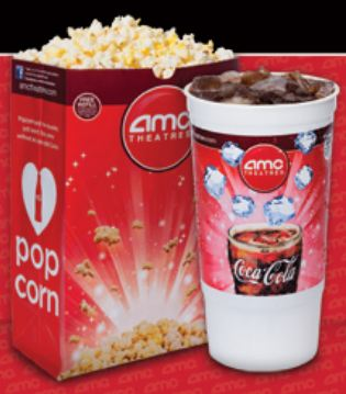 AMC Popcorn and Drink Printable Coupon