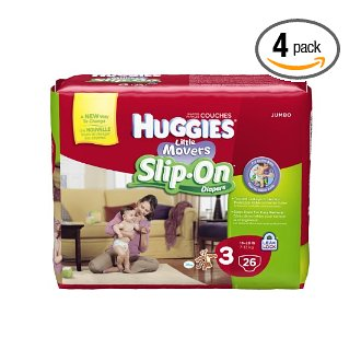 Amazon Huggies Little Movers Slip On Diapers Coupon