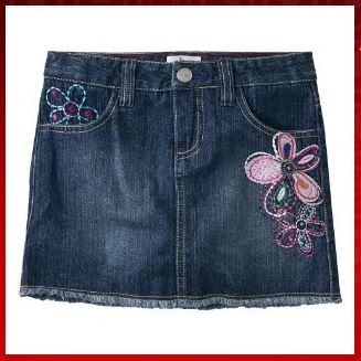 Circo Girls Jean Skirt Daily Deal