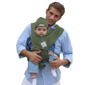 Baby K'tan Baby Carrier Sage Green Small