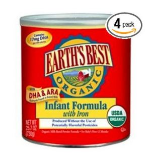 Earth's Best Organic Infant Formula Deal