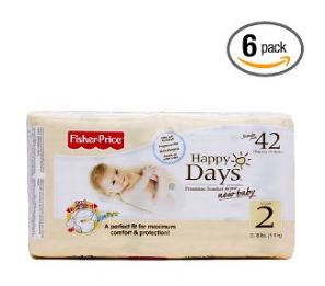 Fisher Price Happy Days Baby Diapers Coupon