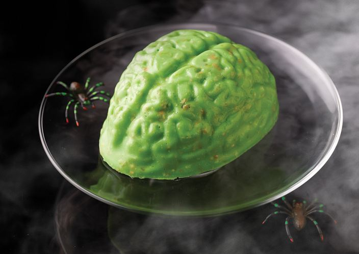 Free JELLO Halloween Brain Mold