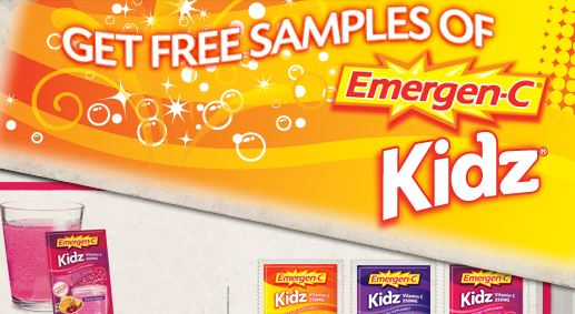 Free Sampl of Emergen-C Kidz