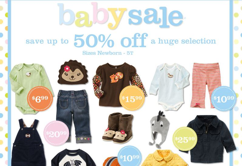 Gymboree Baby Sale and Magazine Coupons