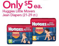 Huggies Little Movers Jean Diapers Babies R Us Deal