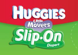 Huggies Little Movers Slip-on diapers coupon deal
