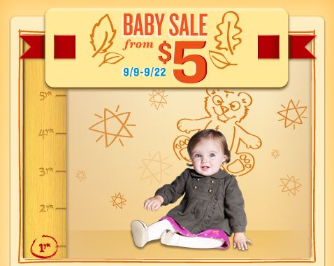 Old Navy Baby Sale and Cutest Baby Photo Contest