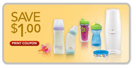 Playtex Baby Products Printable Coupon