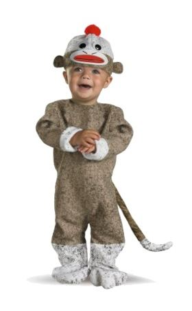 Target Daily Deals Infant Sock Monkey Halloween Costume