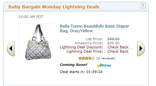 Amazon Baby Bargain Monday Lightning Deals w Free Shipping