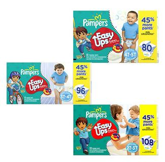 Amazon Pampers Easy Ups Coupon