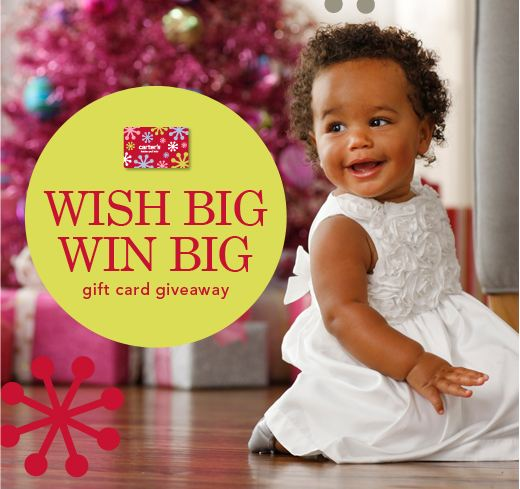 Carters Wish Big Win Big Gift Card Giveaway Sweepstakes