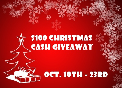 $100 Christmas Cash Giveaway