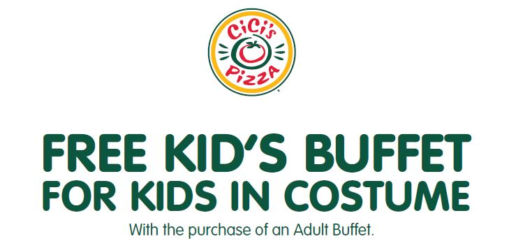 CiCis Pizza Free Kids Buffet