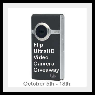 Flip UltraHD Video Camera  Giveaway